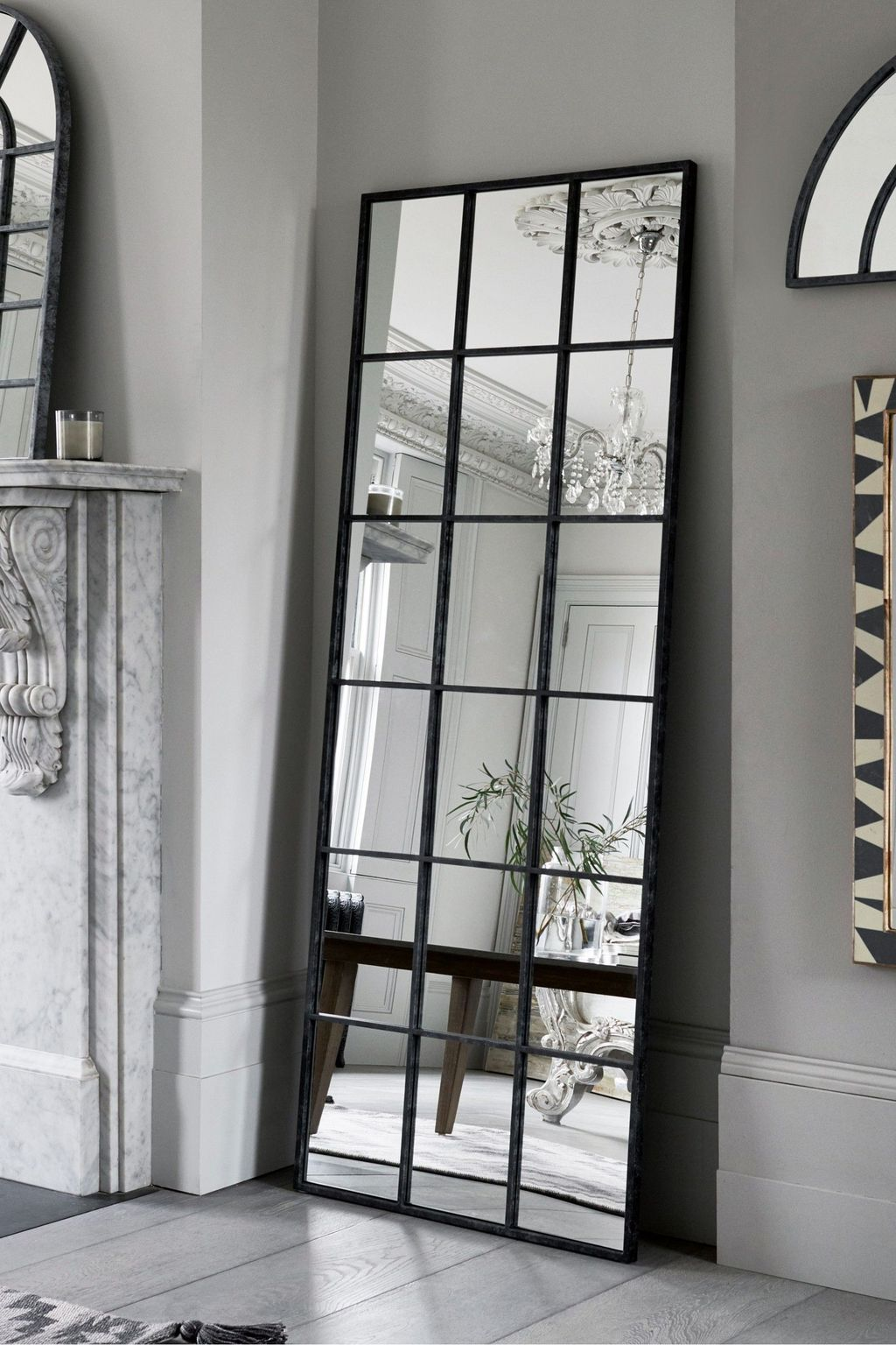 Popular Mirror Wall Decor Ideas Best For Living Room 12