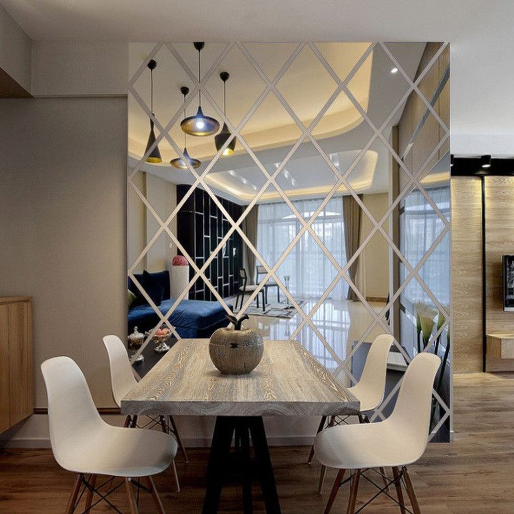 Popular Mirror Wall Decor Ideas Best For Living Room 18