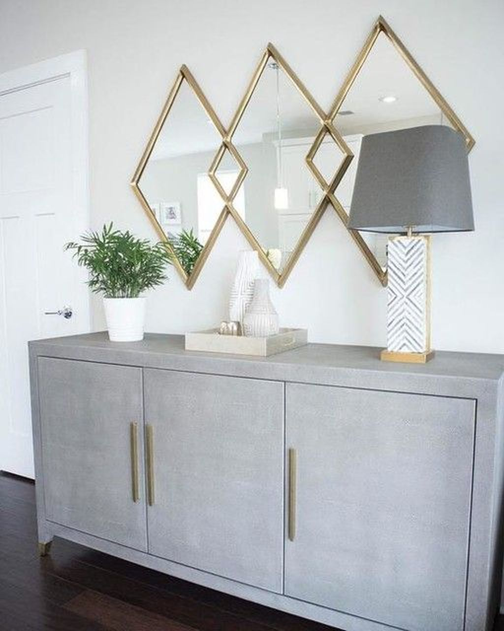 Popular Mirror Wall Decor Ideas Best For Living Room 24