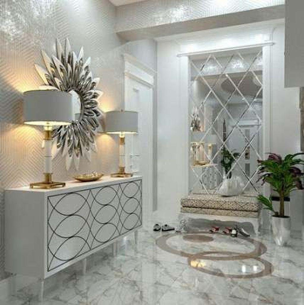 Popular Mirror Wall Decor Ideas Best For Living Room 34
