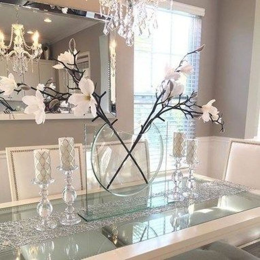 Stunning Romantic Dining Room Decor Ideas Best For Valentines Day 22