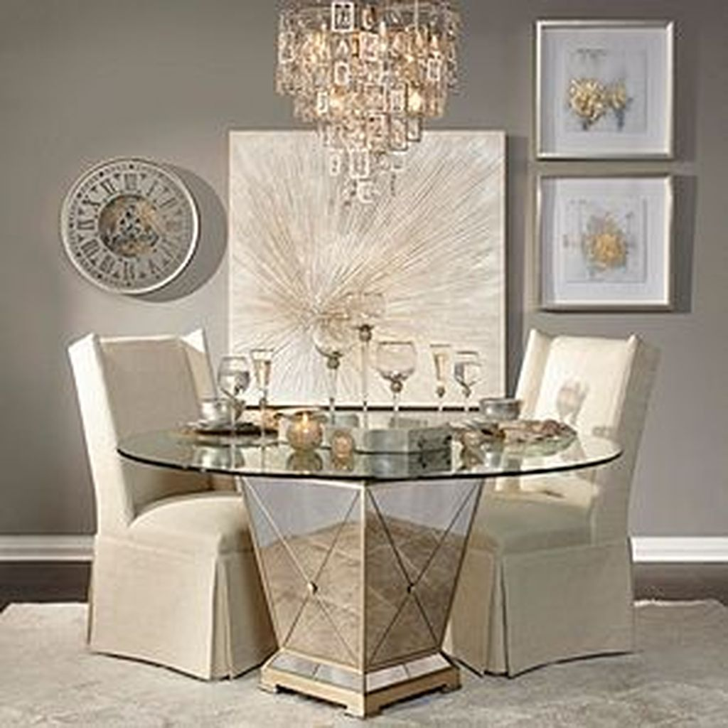 Stunning Romantic Dining Room Decor Ideas Best For Valentines Day 24