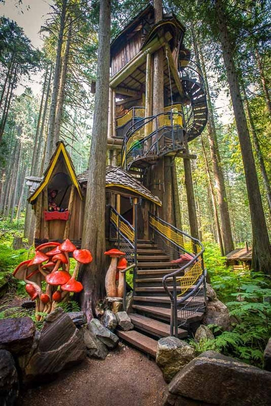 Stunning Tree House Designs You Never Seen Before 01