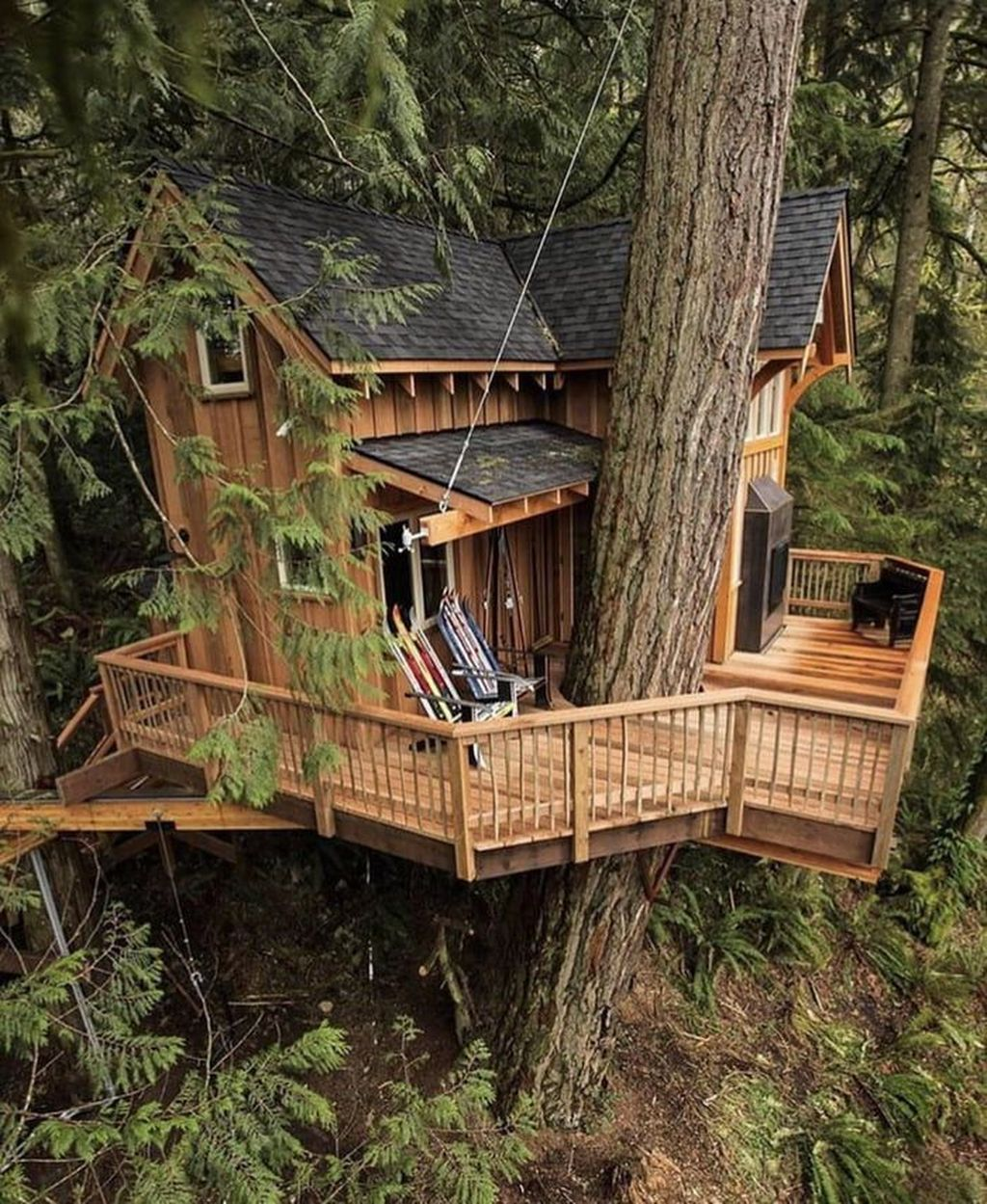 Stunning Tree House Designs You Never Seen Before 30