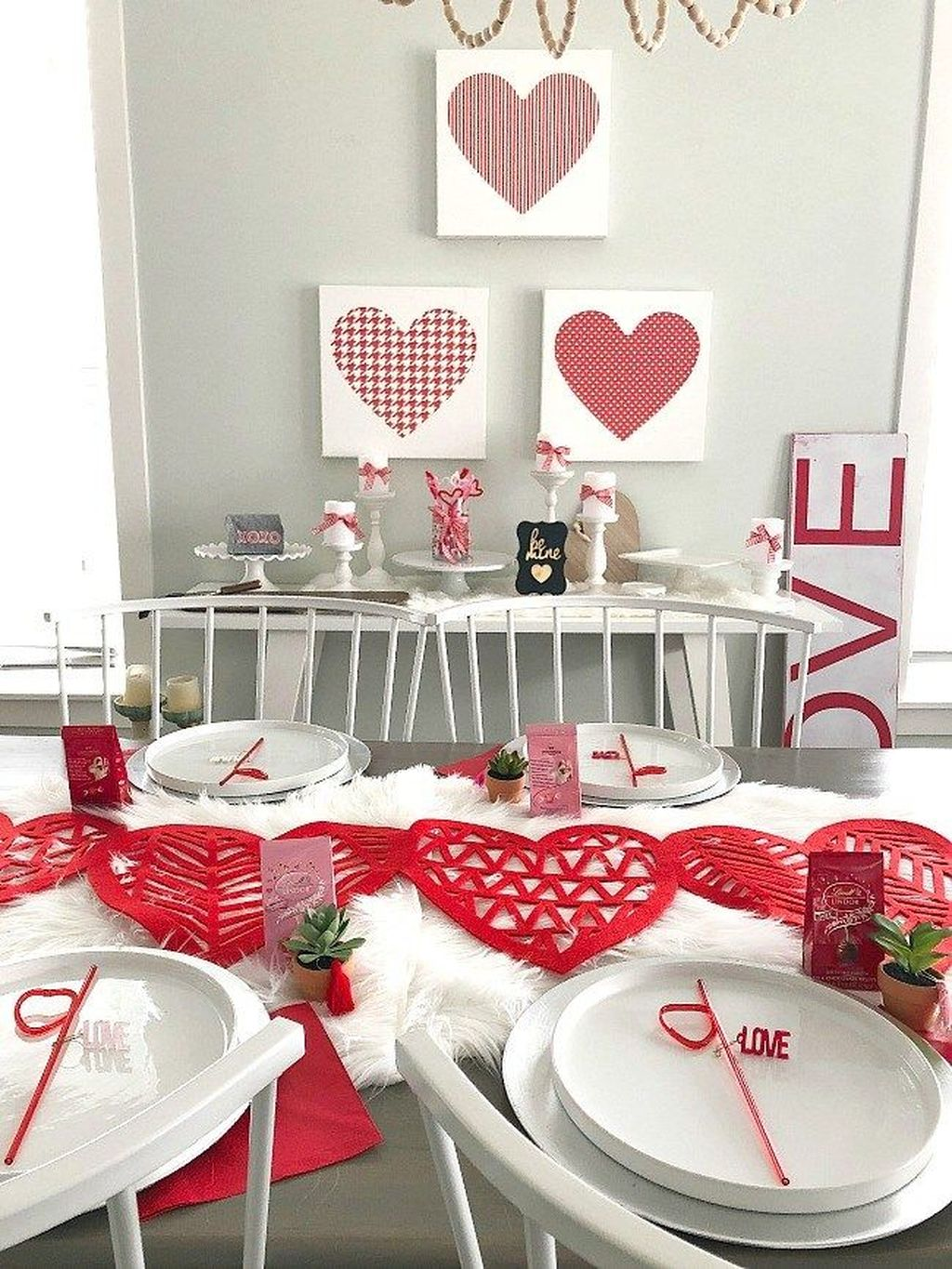 Stunning Valentine Theme Party With A Romantic Feel 22
