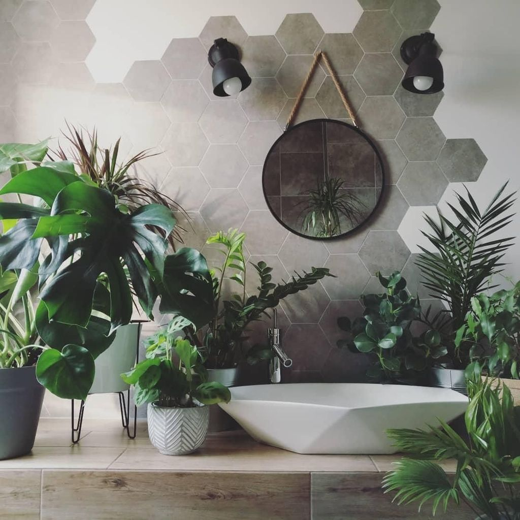 The Best Jungle Bathroom Decor Ideas To Get A Natural Impression 01