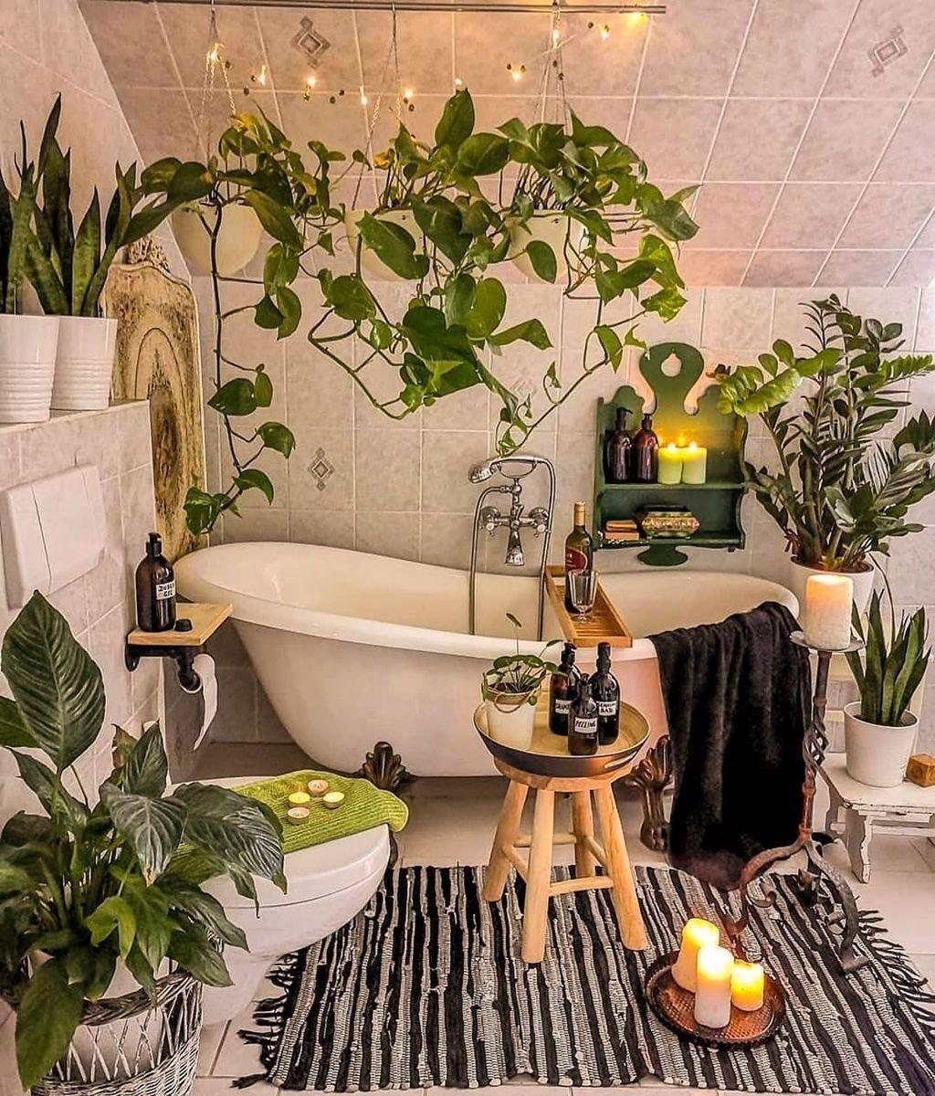 The Best Jungle Bathroom Decor Ideas To Get A Natural Impression 22
