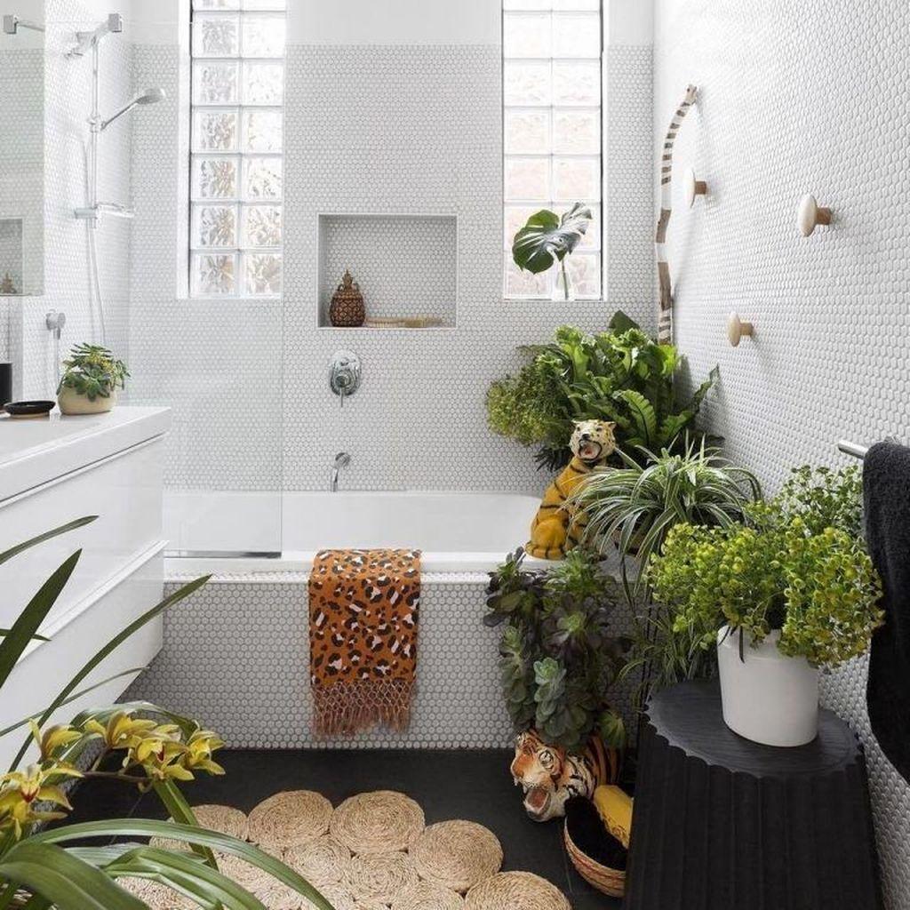 The Best Jungle Bathroom Decor Ideas To Get A Natural Impression 30