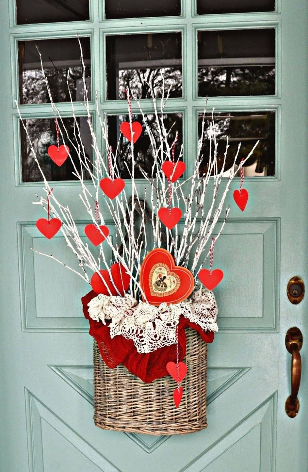 The Best Valentine Door Decorations 08