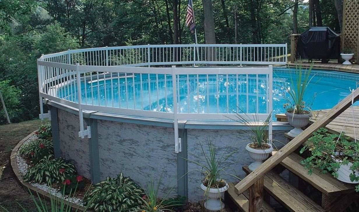 Amazing Ground Pool Landscaping That You Should Copy 23