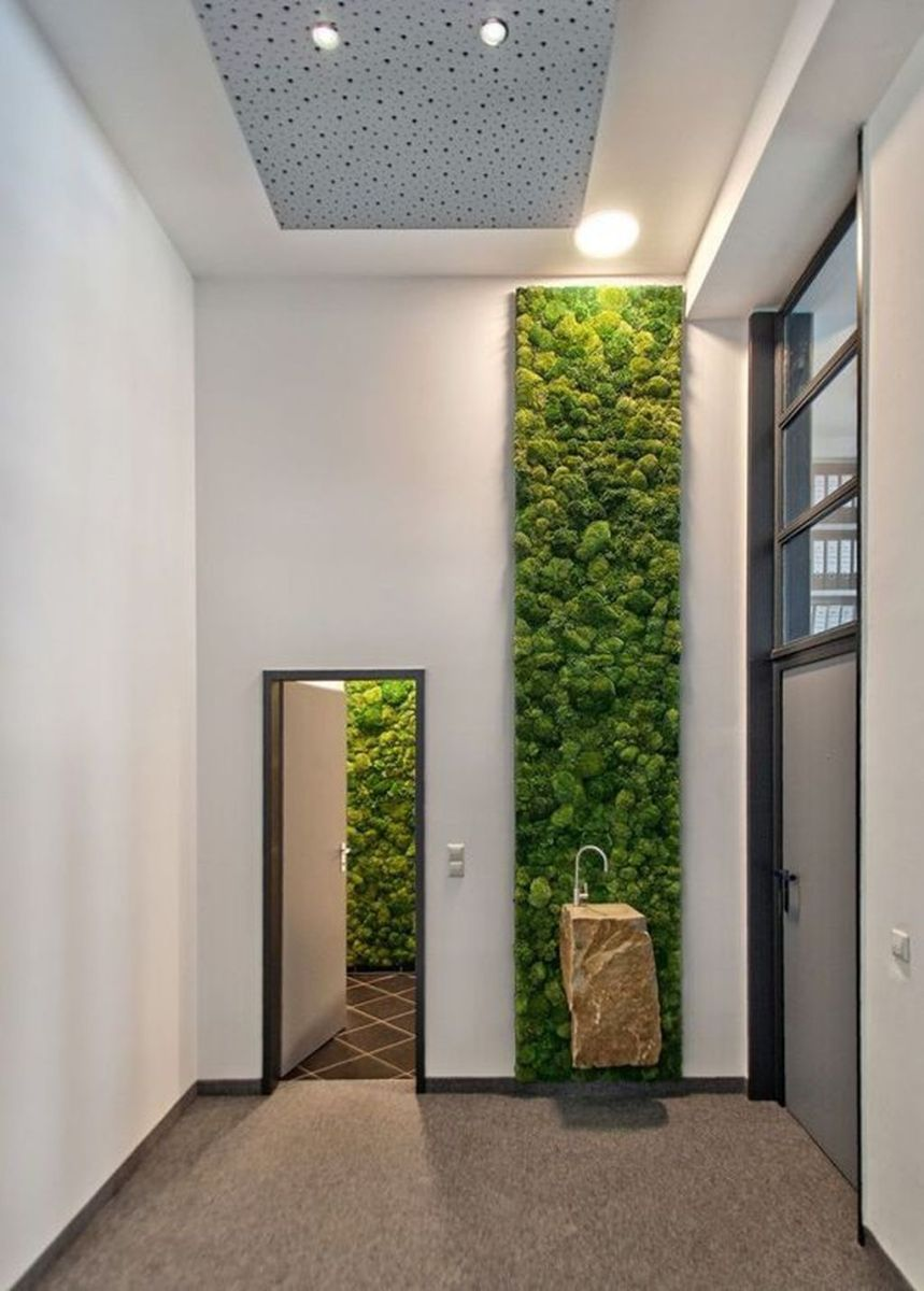 Beautiful Living Wall Indoor Decoration Ideas To Be A Fresh Home 08
