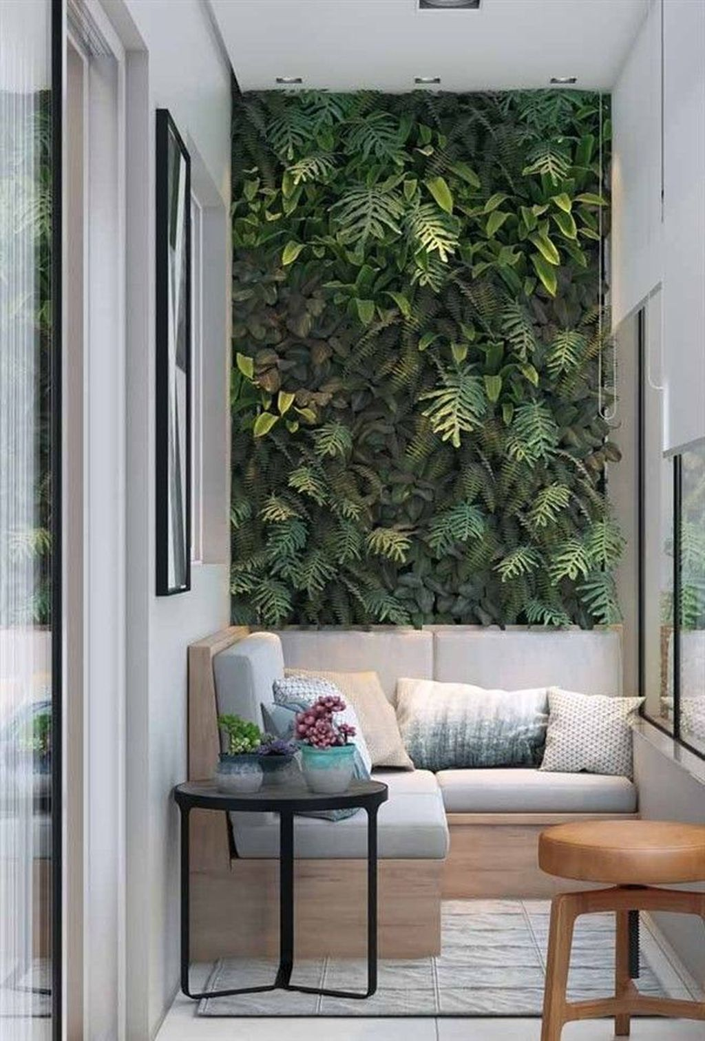 Beautiful Living Wall Indoor Decoration Ideas To Be A Fresh Home 12