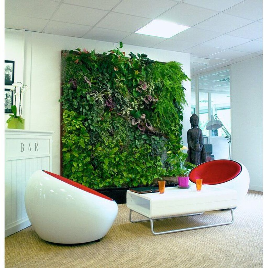 Beautiful Living Wall Indoor Decoration Ideas To Be A Fresh Home 24