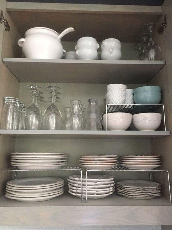 Best Design Ideas For Kitchen Organization Cabinets 05