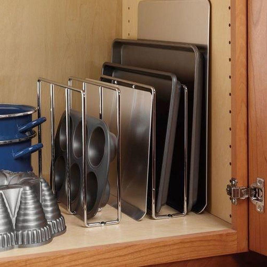 Best Design Ideas For Kitchen Organization Cabinets 34