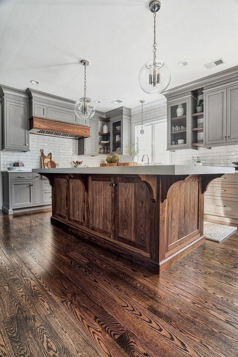 Great Ideas For Modern Farmhouse Kitchen Decorations 04
