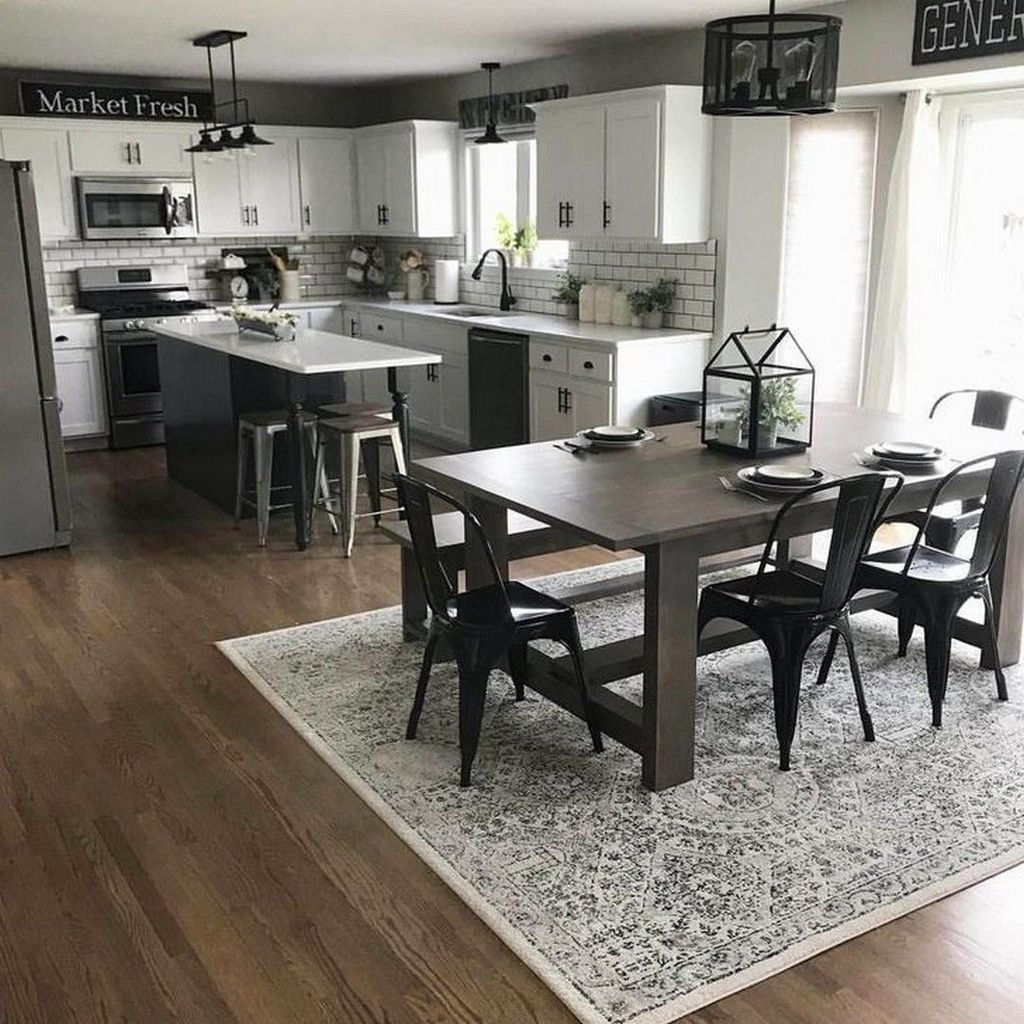 Great Ideas For Modern Farmhouse Kitchen Decorations 09