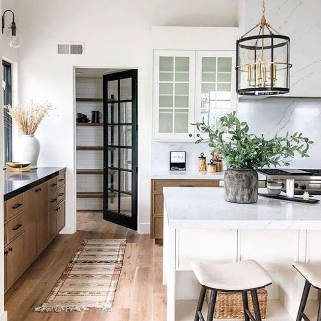 Great Ideas For Modern Farmhouse Kitchen Decorations 14