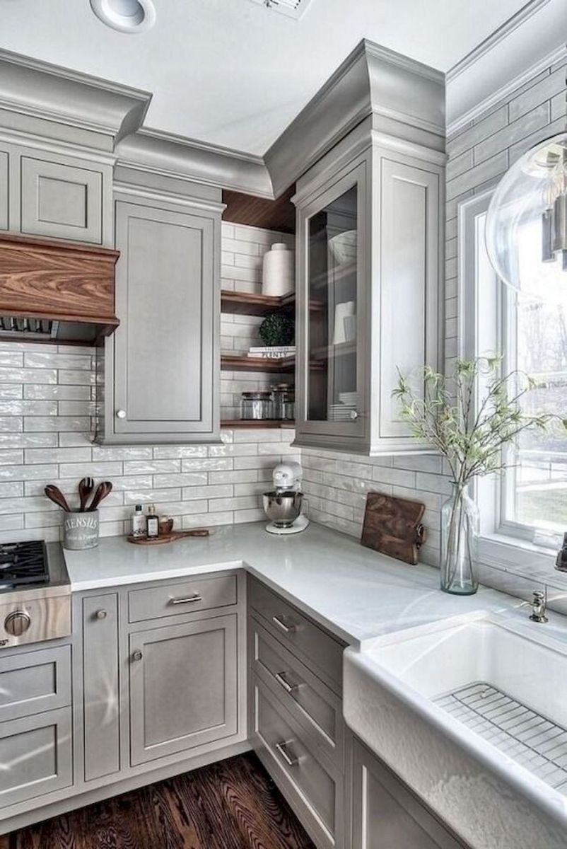 Great Ideas For Modern Farmhouse Kitchen Decorations 17