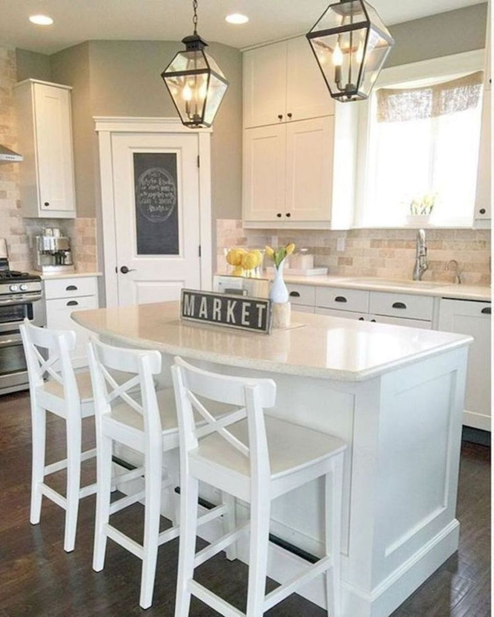 Great Ideas For Modern Farmhouse Kitchen Decorations 23