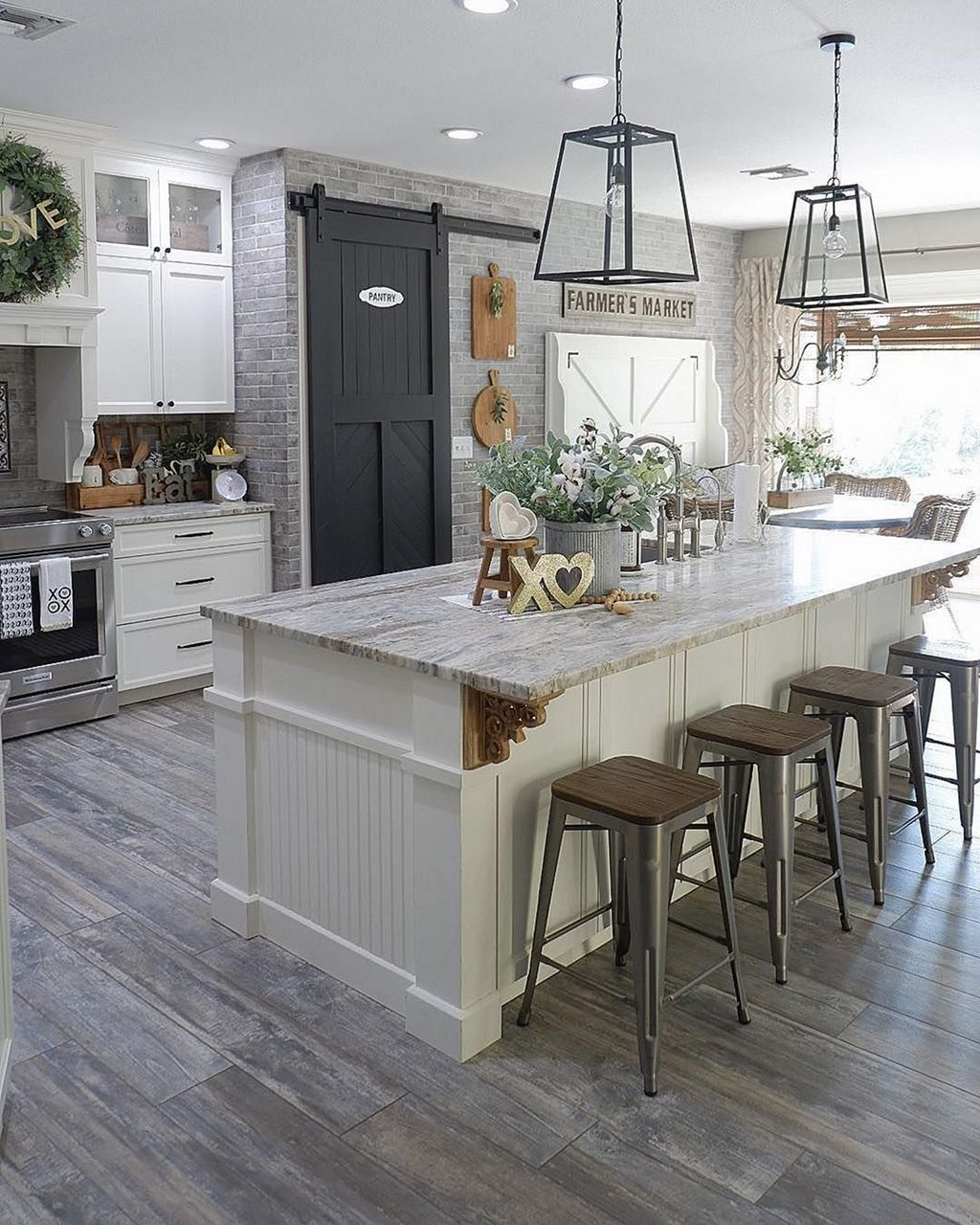 Great Ideas For Modern Farmhouse Kitchen Decorations 28