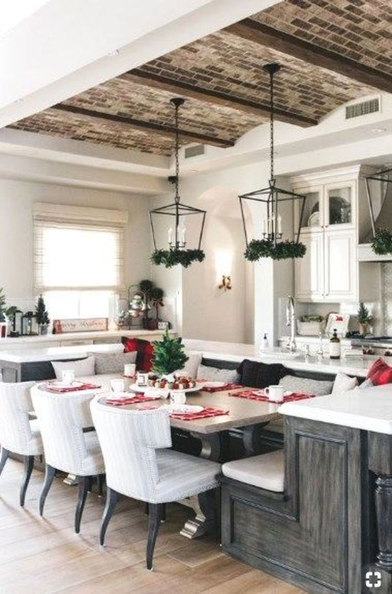 Great Ideas For Modern Farmhouse Kitchen Decorations 32