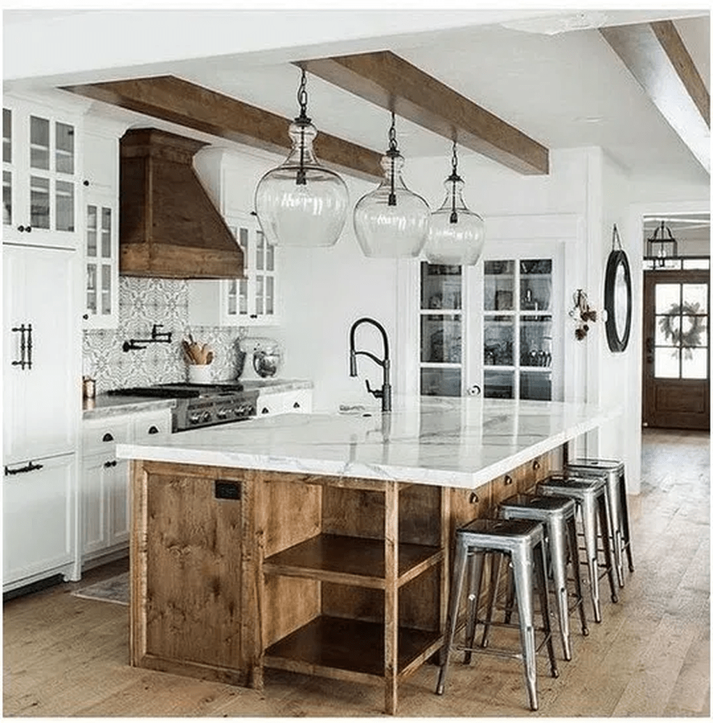 Great Ideas For Modern Farmhouse Kitchen Decorations 36