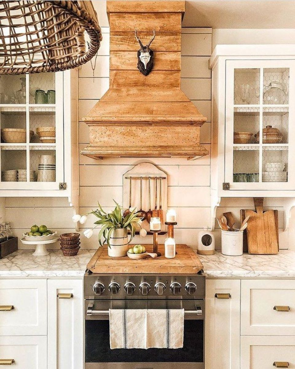 Great Ideas For Modern Farmhouse Kitchen Decorations 37