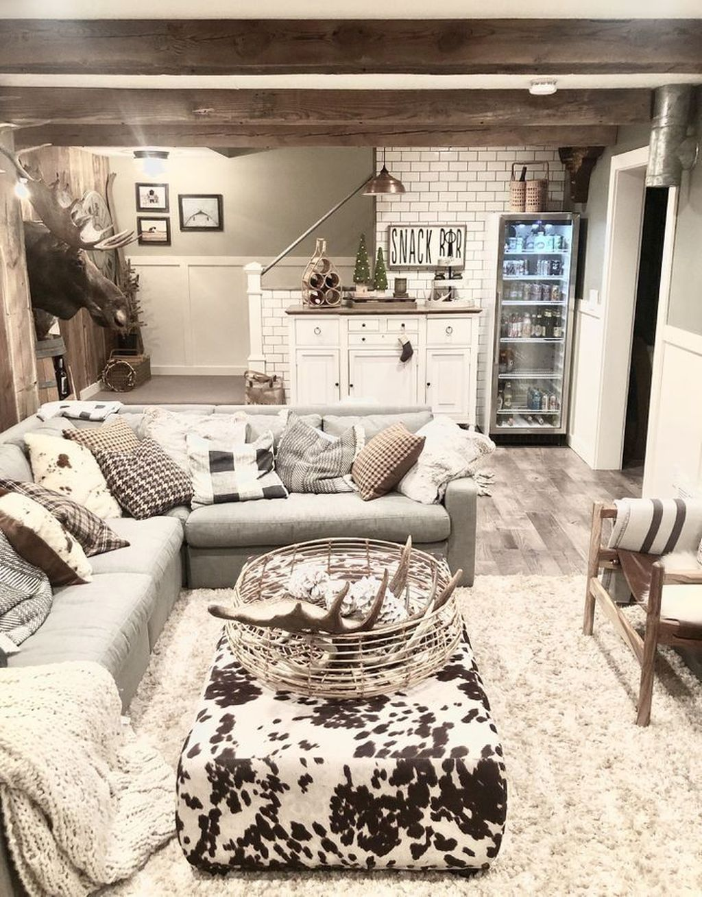 Stunning Basement Remodel Ideas Be A Beautiful Living Space 03