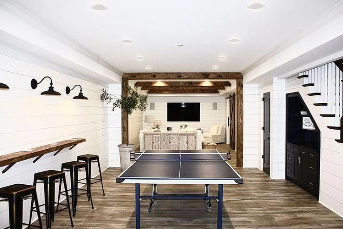 Stunning Basement Remodel Ideas Be A Beautiful Living Space 07