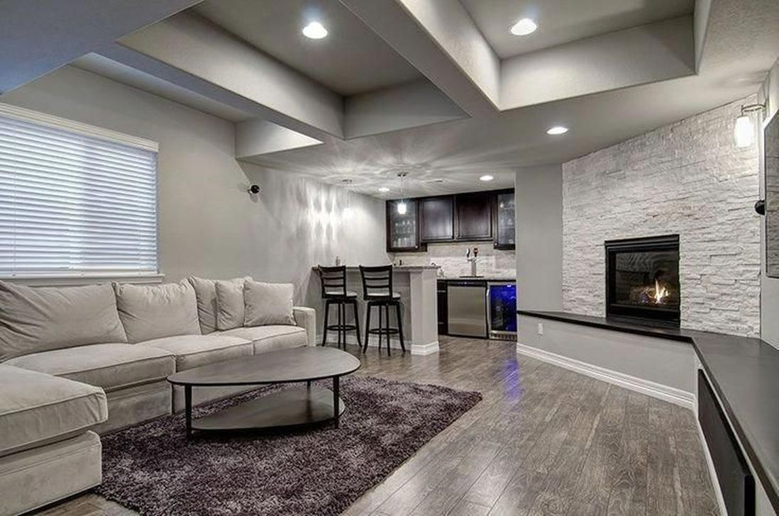 Stunning Basement Remodel Ideas Be A Beautiful Living Space 14