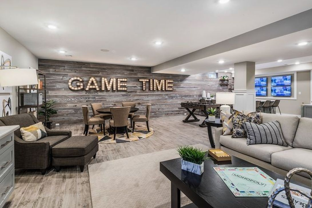 Stunning Basement Remodel Ideas Be A Beautiful Living Space 33