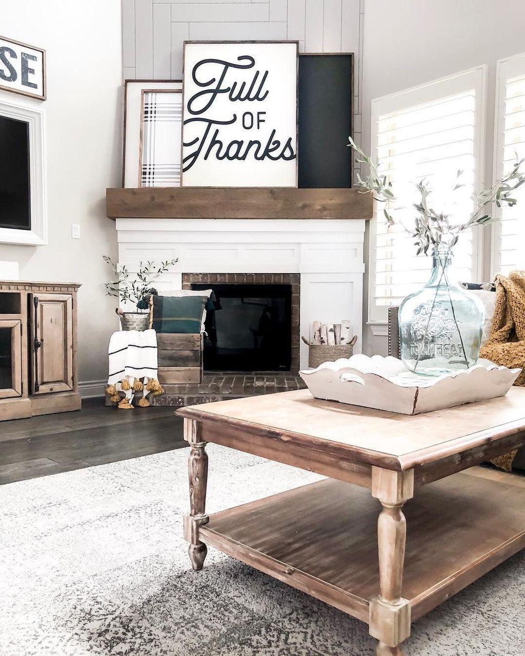 Stunning Corner Fireplace Design For Living Room 18