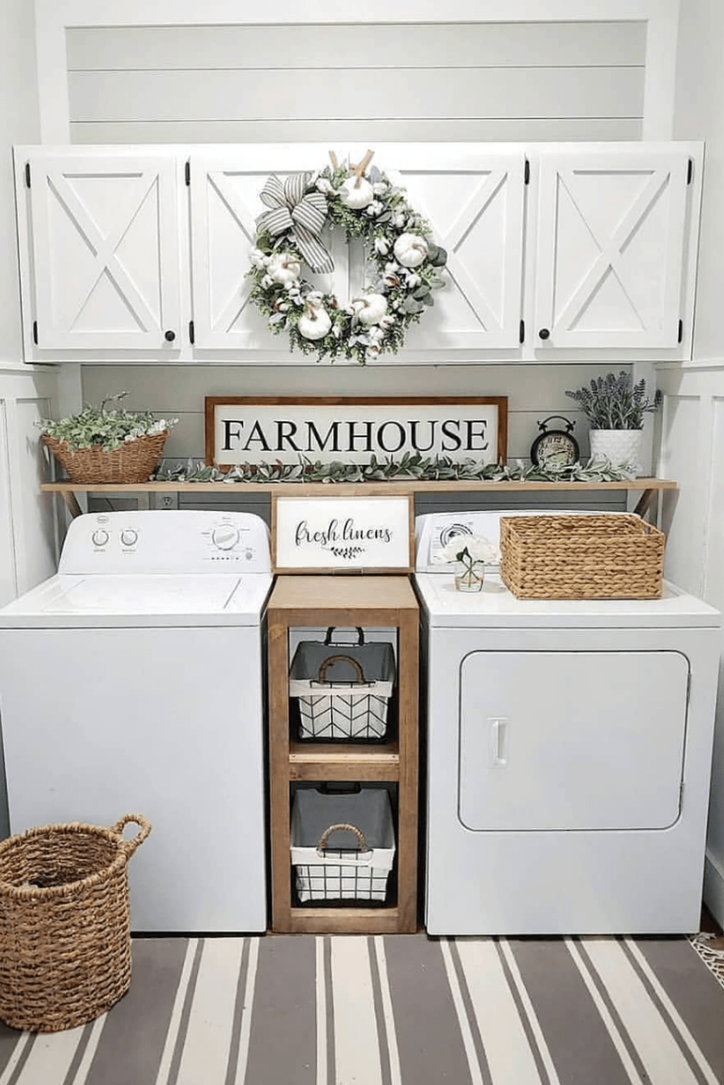 The Best Ideas To Decorate Interior Design With Farmhouse Style 02