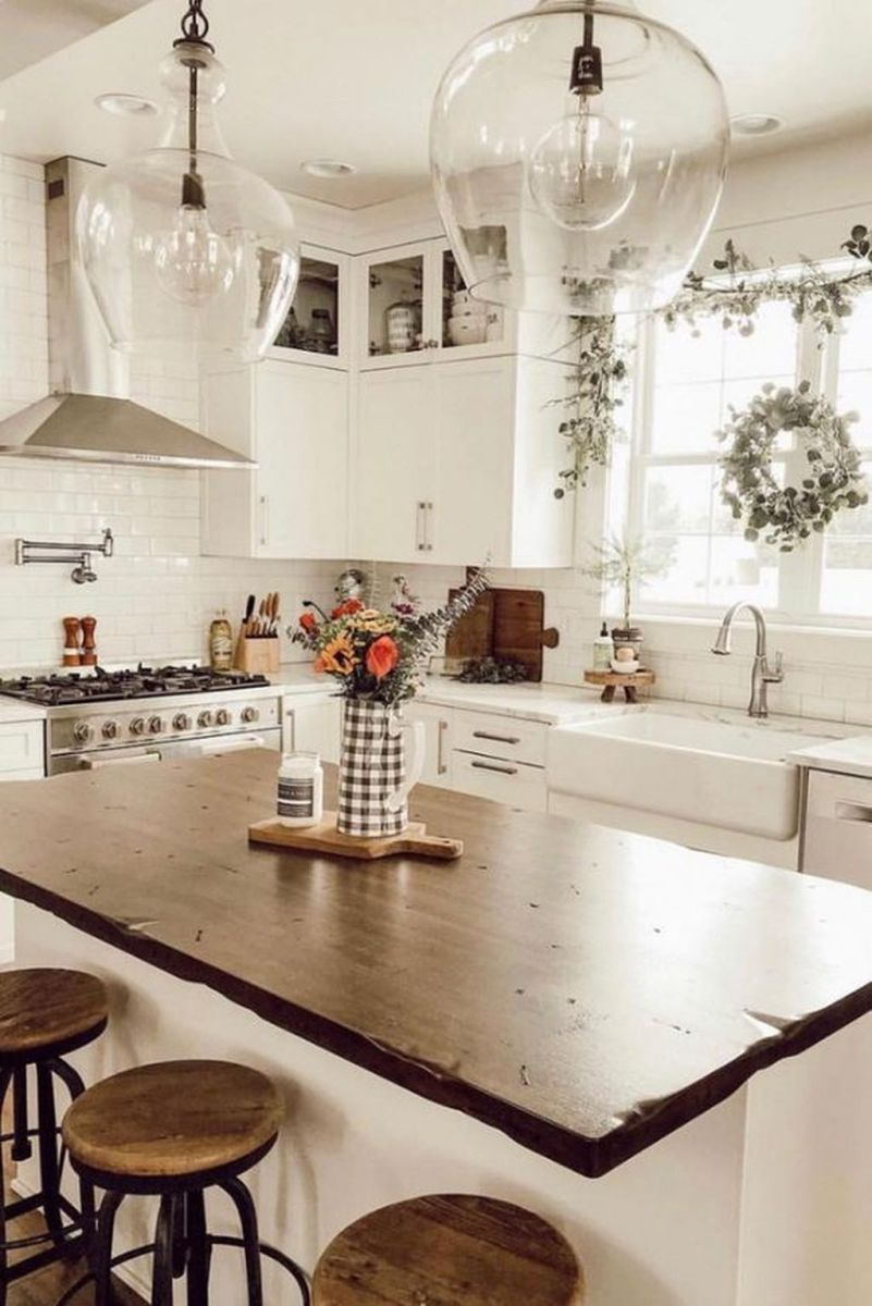 The Best Ideas To Decorate Interior Design With Farmhouse Style 05