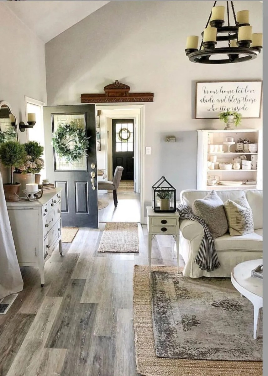 The Best Ideas To Decorate Interior Design With Farmhouse Style 12