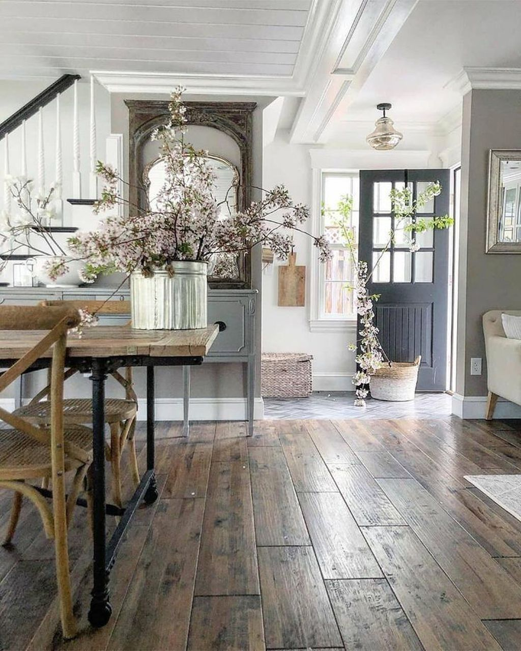 The Best Ideas To Decorate Interior Design With Farmhouse Style 17