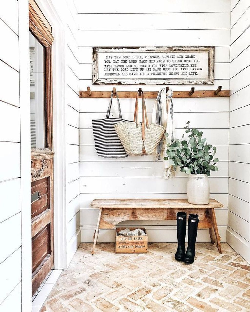The Best Ideas To Decorate Interior Design With Farmhouse Style 27