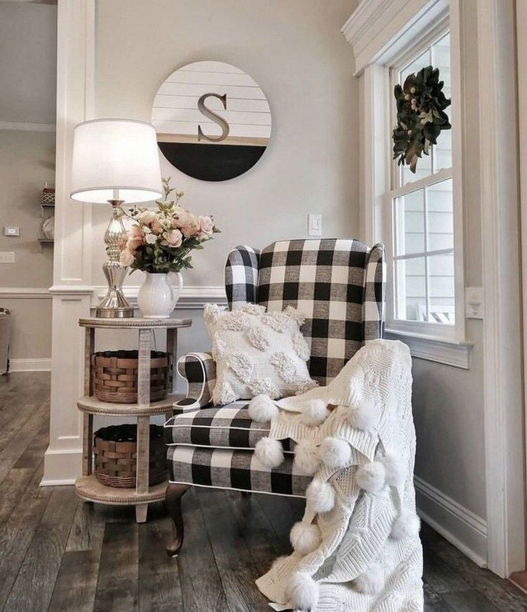 The Best Ideas To Decorate Interior Design With Farmhouse Style 32