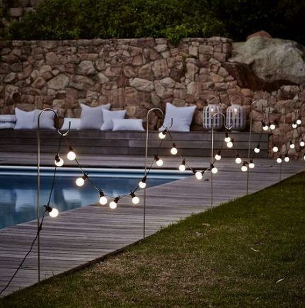 Totally Difference Pool Seating Ideas To Beautify Your Backyard 10