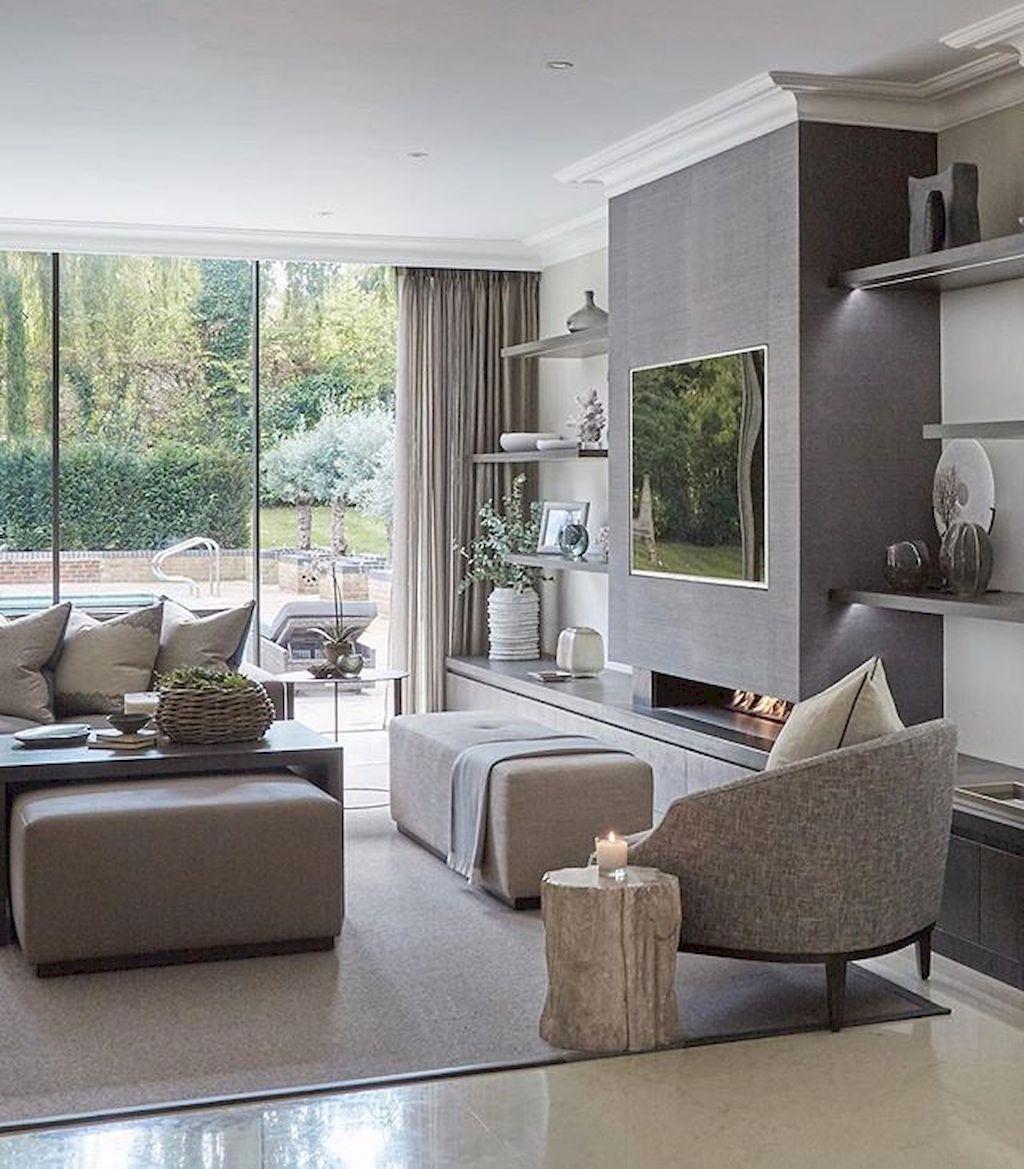 Amazing Contemporary Living Room Decoration Ideas 10