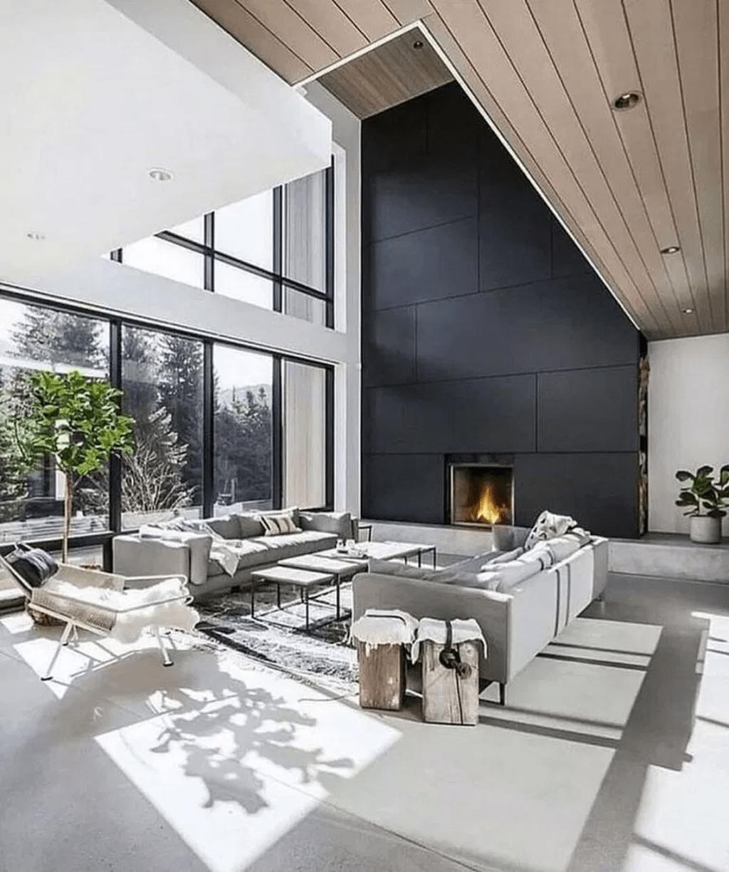Amazing Contemporary Living Room Decoration Ideas 16