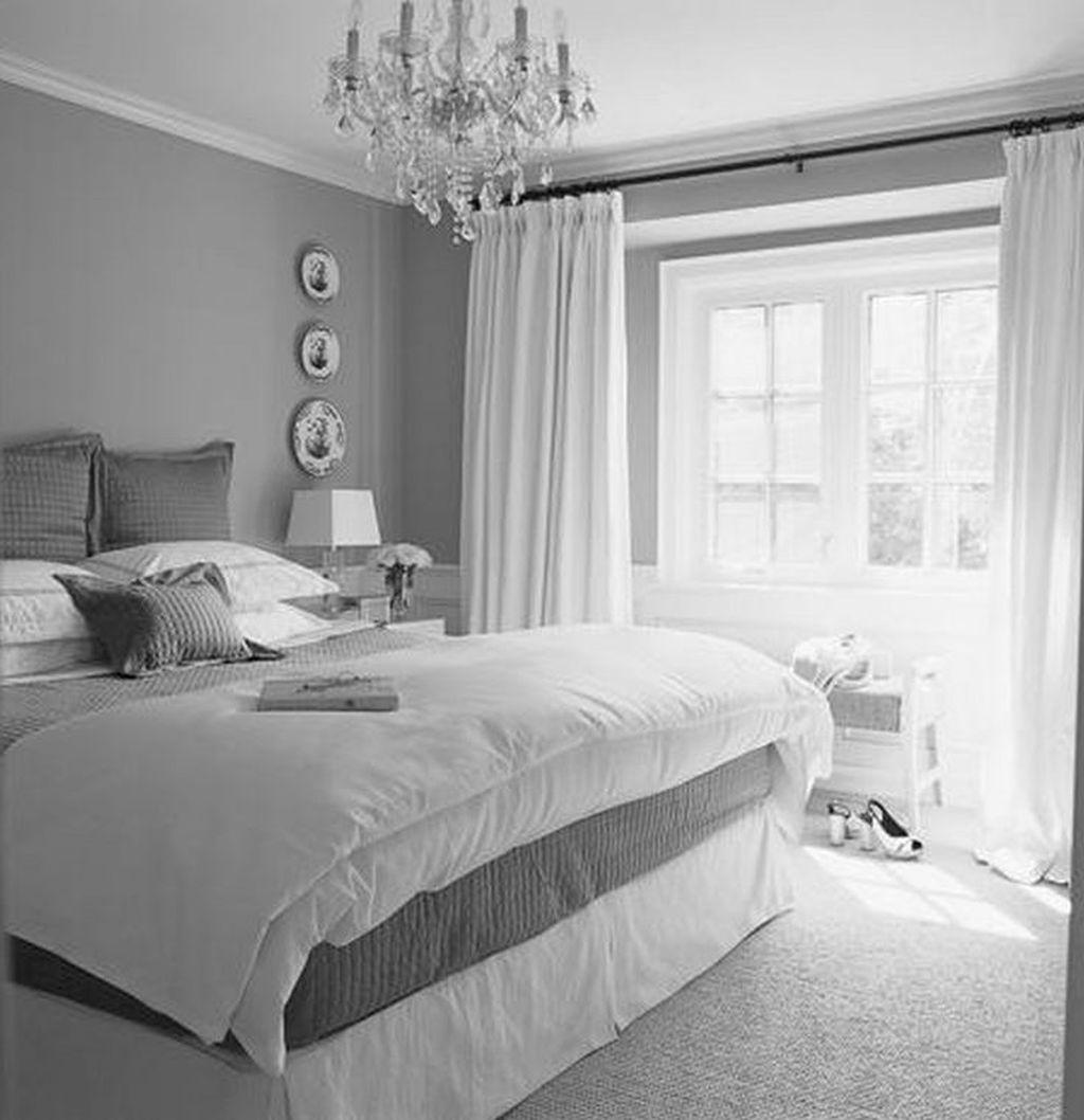 Fabulous White Bedroom Ideas To Make Your Sleep Comfortable 09