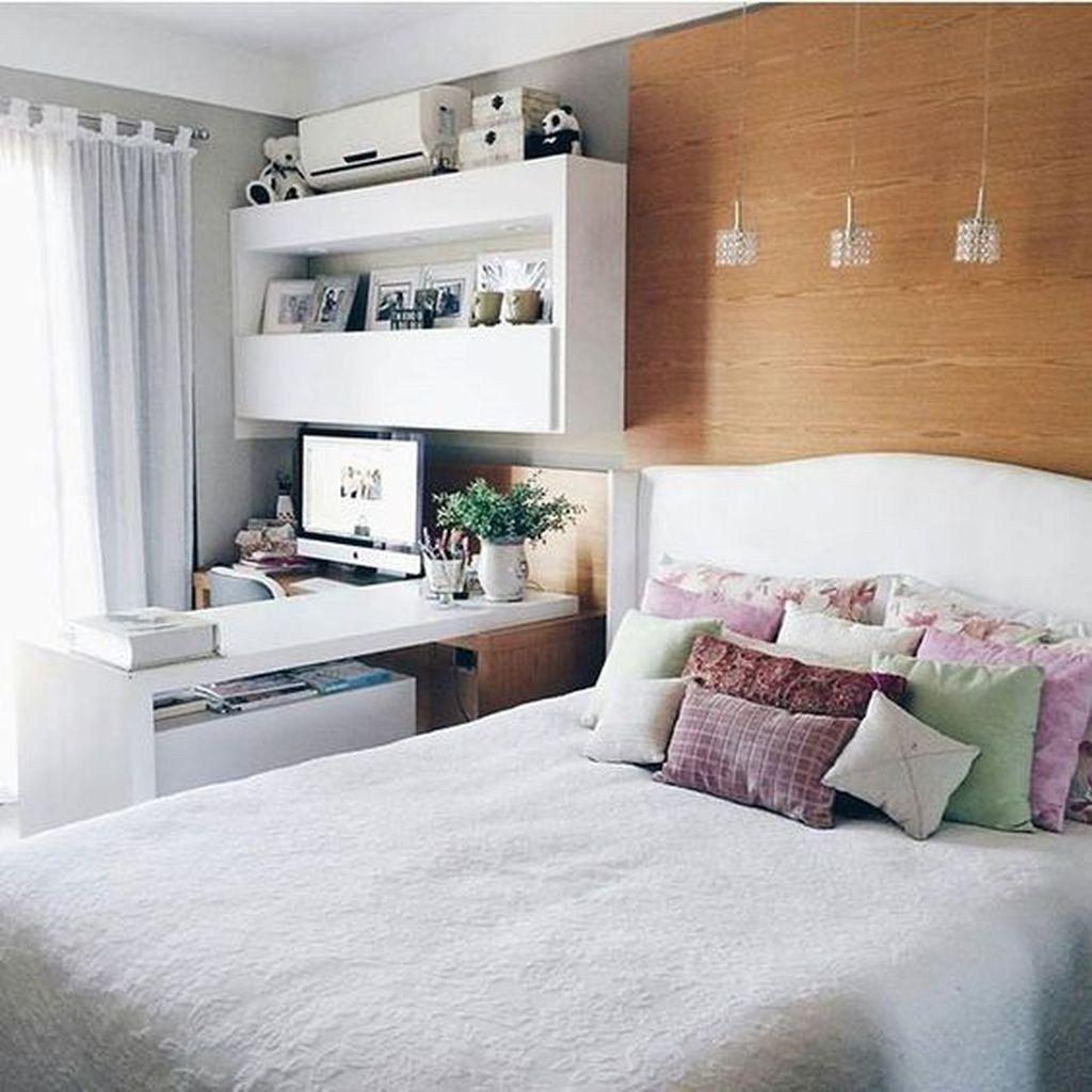 Fabulous White Bedroom Ideas To Make Your Sleep Comfortable 17