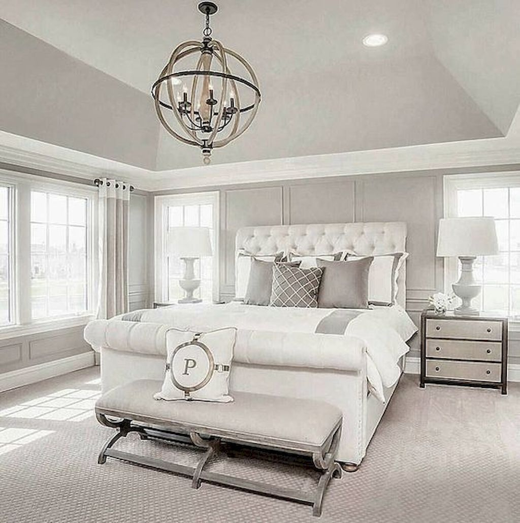 Fabulous White Bedroom Ideas To Make Your Sleep Comfortable 28