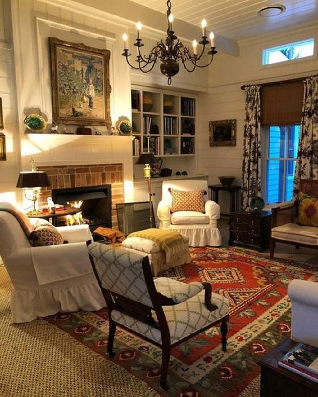 Fascinating Traditional Living Room Decor Ideas You Will Love 21