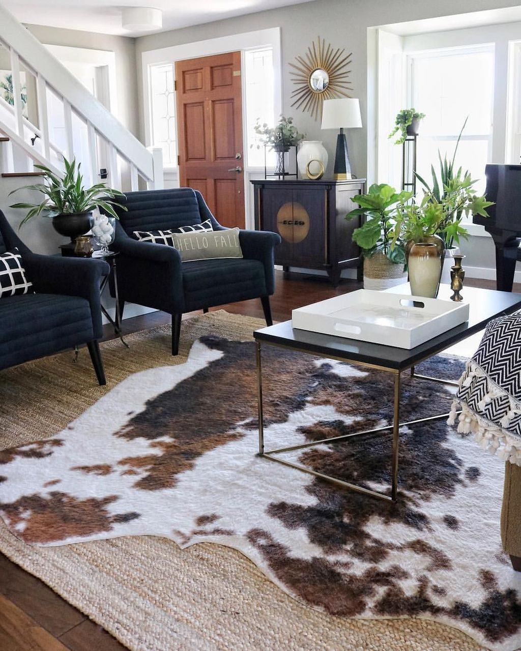 Gorgeous Industrial Living Room Design And Decoration Ideas 21