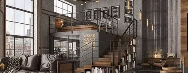 Gorgeous Industrial Living Room Design And Decoration Ideas 32