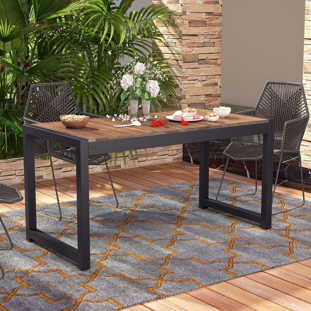 Inspiring Outdoor Dining Table Design Ideas 02