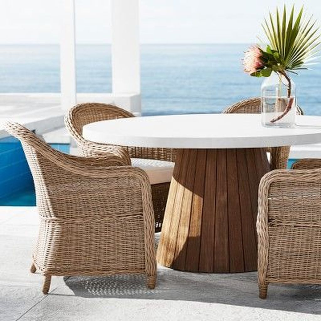 Inspiring Outdoor Dining Table Design Ideas 06
